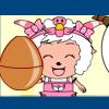 喜羊羊接鸡蛋