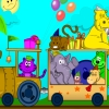 Animal Train coloring