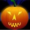 Decor the halloween pumpkin