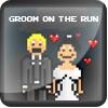 Groom on the run