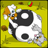 Yin Yang Puppy and Kitty Coloring Game