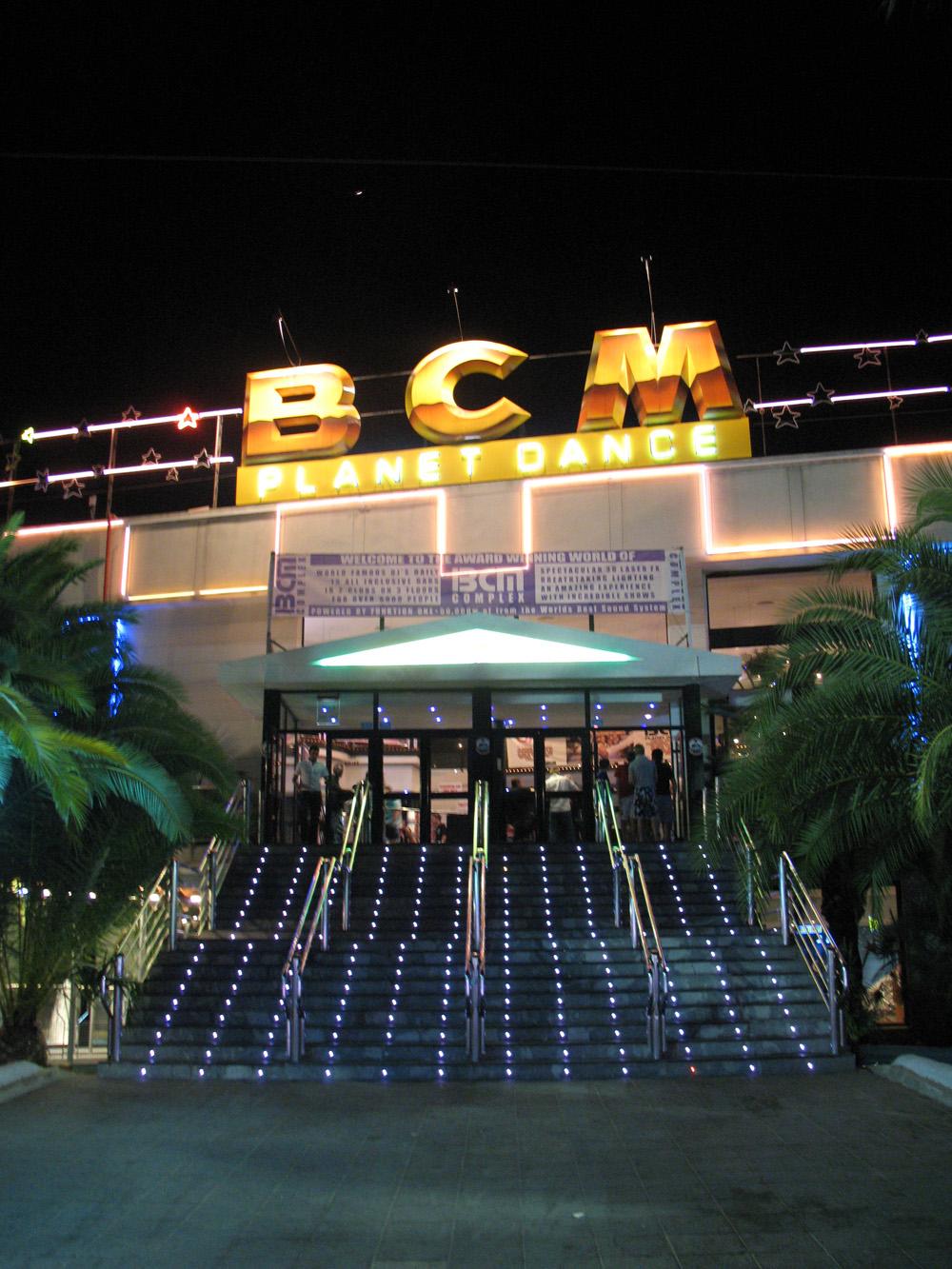 Magaluf Mallorca BCM Nightclub